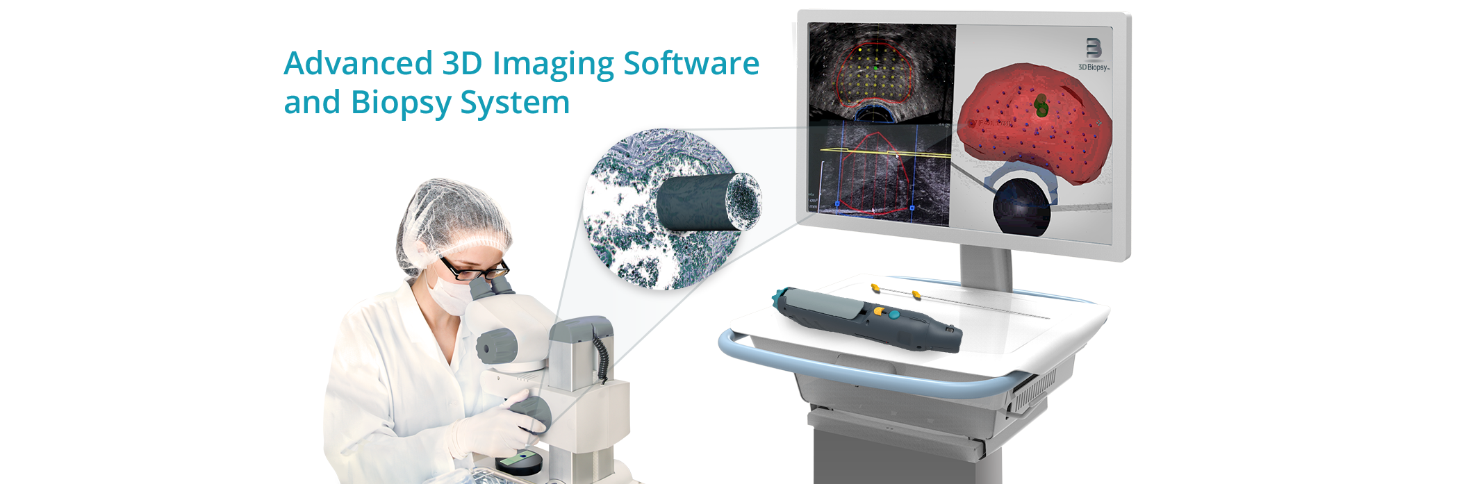 The Next Dimension: Advanced 3D Imaging Software and Biopsy System